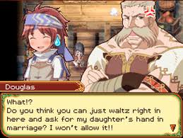 Rune Factory 2 Mana's dad